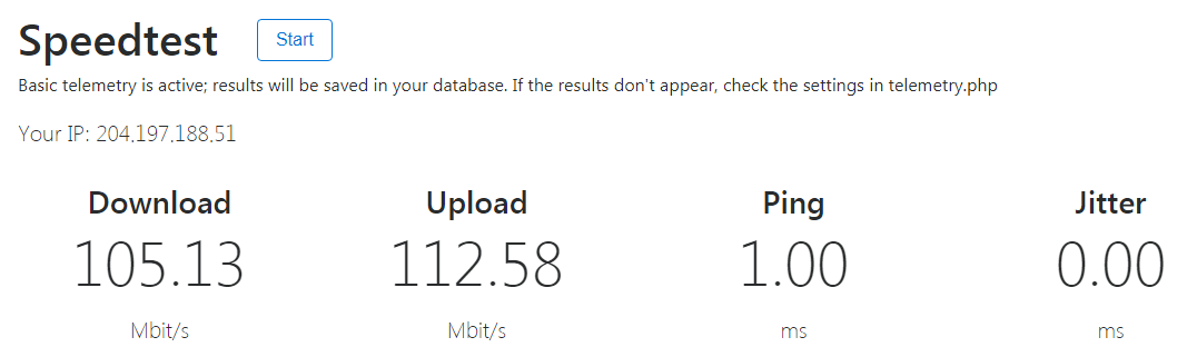 How do I test my Internet speed?